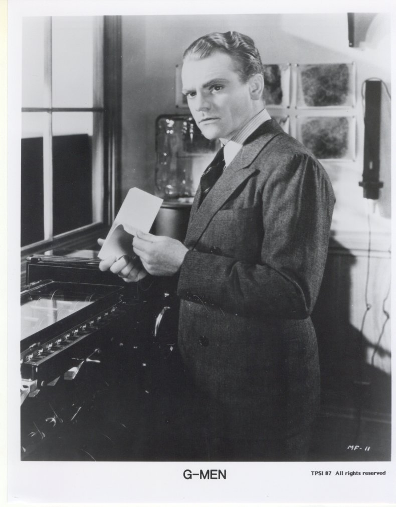 G-Men James Cagney Press Promo Publicity Photo Movie Still Jimmy