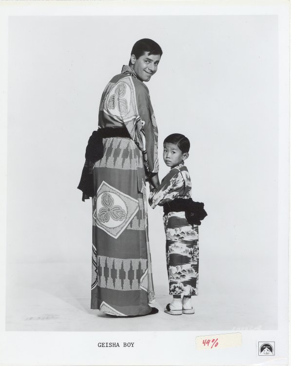 Geisha Boy Press Publicity Photo Jerry Lewis Movie Film