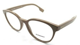 Burberry Rx Eyeglasses Frames BE 2315 3839 52-18-140 Beige Made in Italy - $105.06