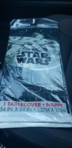"""Star Wars - Plastic Table cover - 84""""x54"""" - NEW In Package - $0.98"""