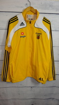 Vintage yellow Adidas sports jacket Size US- L - $20.00