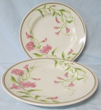 Franciscan Sweet Pea 1975-78 Dinner Plate Set of 2 - $24.64