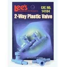 Lee's Aquarium 2 Way Plastic Valve 2 pk. - €1,75 EUR