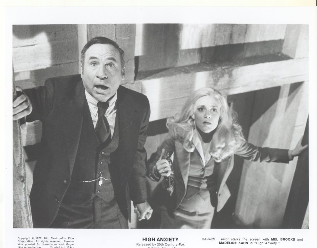 High Anxiety Mel Brooks Madeline Kahn Press Photo Movie Still Publicity Promo