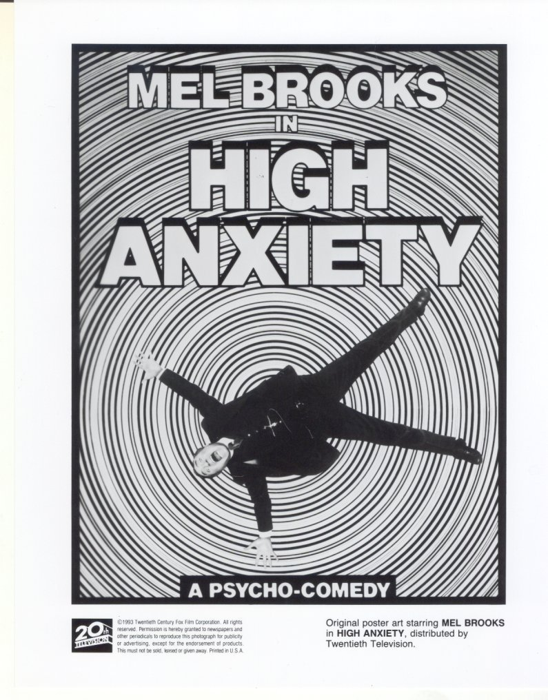 High Anxiety Mel Brooks Poster Art Press Photo Movie Still Publicity Promo