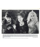 Hocus Pocus Bette Midler Sarah Jessica Parker Kathy Najimy Press Photo M... - $6.99
