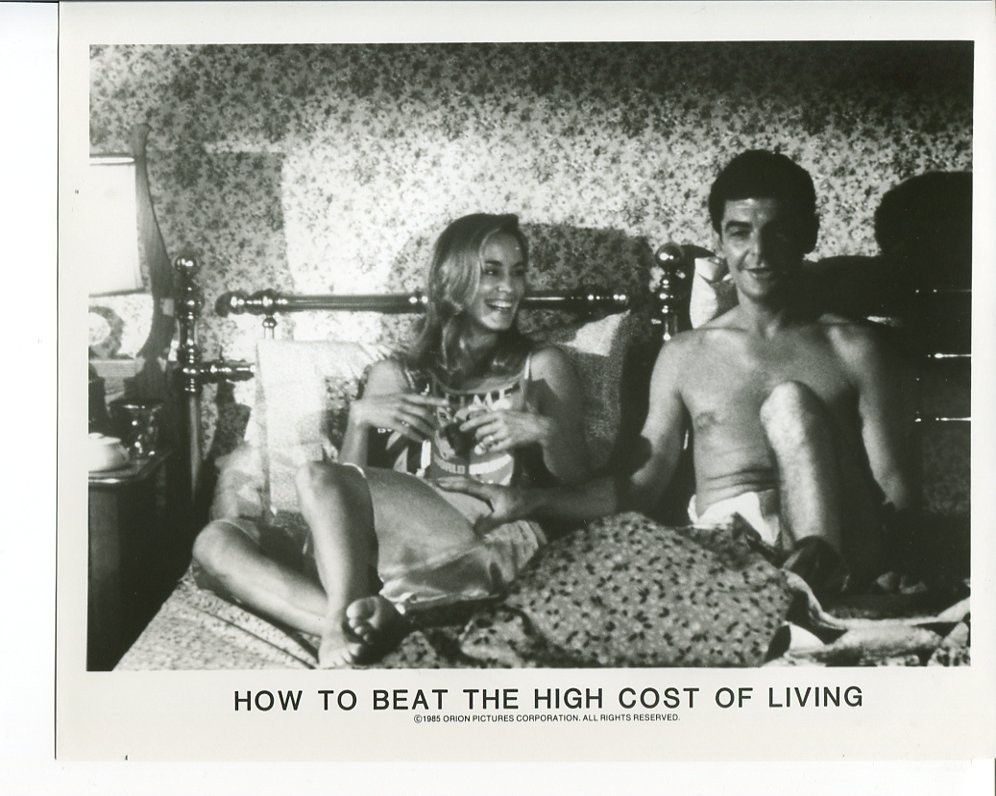 How to Beat High Cost of Living Richard Benjamin Jessica Lange Press Photo Movie