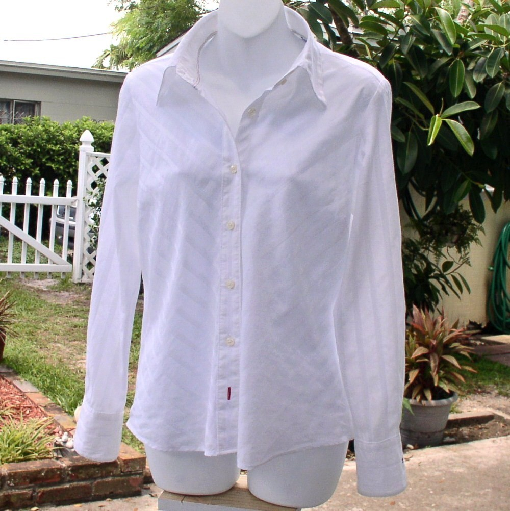 Tommy Hilfiger Almost Vintage White Blouse