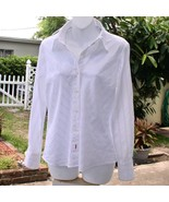 Tommy Hilfiger Almost Vintage White Blouse - $10.00