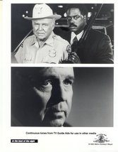 In the Heat of the Night Carroll O'Connor Howard Rollins Press Photo #2 ... - $5.98