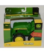 John Deere TBEK37558 Green Tractor Working Loader 18 Months - $9.99