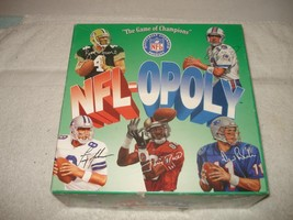 VINTAGE 1994 NFL-OPOLY NATIONAL FOOTBALL LEAGUE MONOPOLY GAME - $9.89