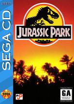 Jurassic Park Sega CD - $12.79