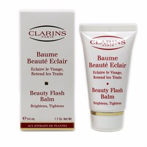 CLARINS BEAUTY FLASH BALM BRIGHTENS,TIGHTENS 50 ML/1.7 OZ. NIB-45310 - $31.19