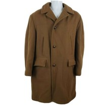 McGregor Vintage Brown Wool Shearling Lined Men's Coat Jacket Overcoat S... - $87.88