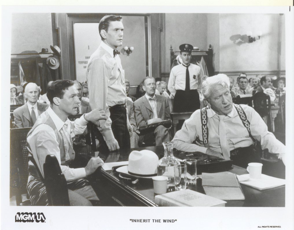 Inherit the Wind Dick York Spencer Tracy Gene Kelly Press Photo Publicity