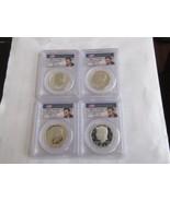 2014  John F.  Kennedy  4 Coin Silver Set  50th Anniversary  PCGS , Firs... - $396.00