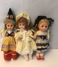 "Vintage Doll 8"" Vinyl And Hard Plastic  Lot  Of 3 - $14.03"