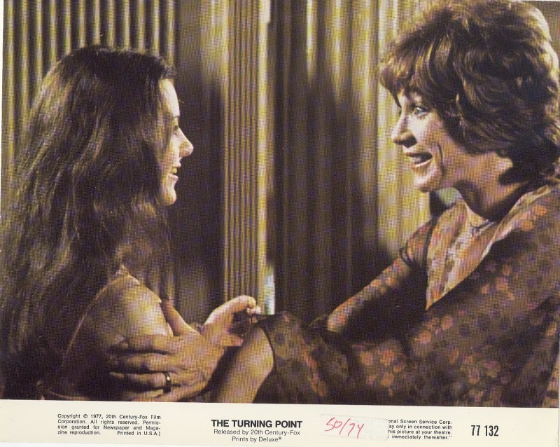 Lot of 2 Color Turning Point Press Publicity Photo Shirley MacLaine Film NSS