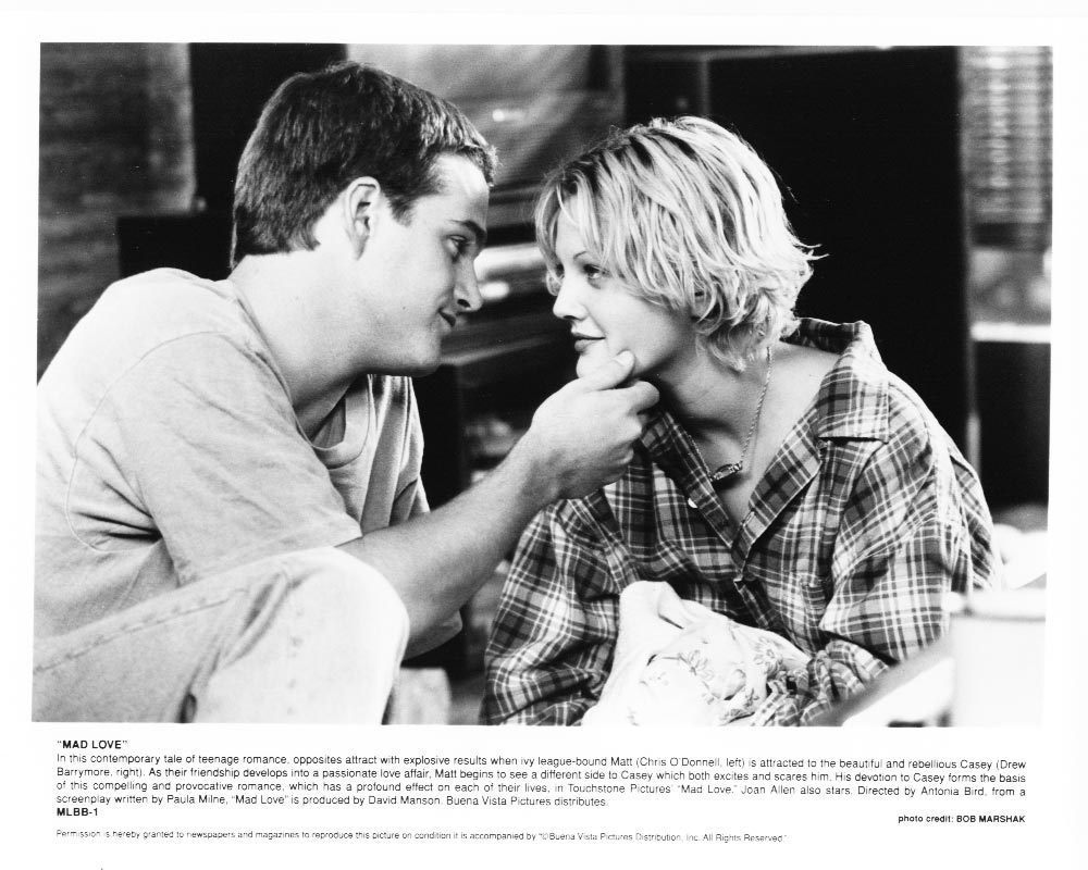 Mad Love Chris O'Donnell Drew Barrymore Press Photo #2 Movie Film