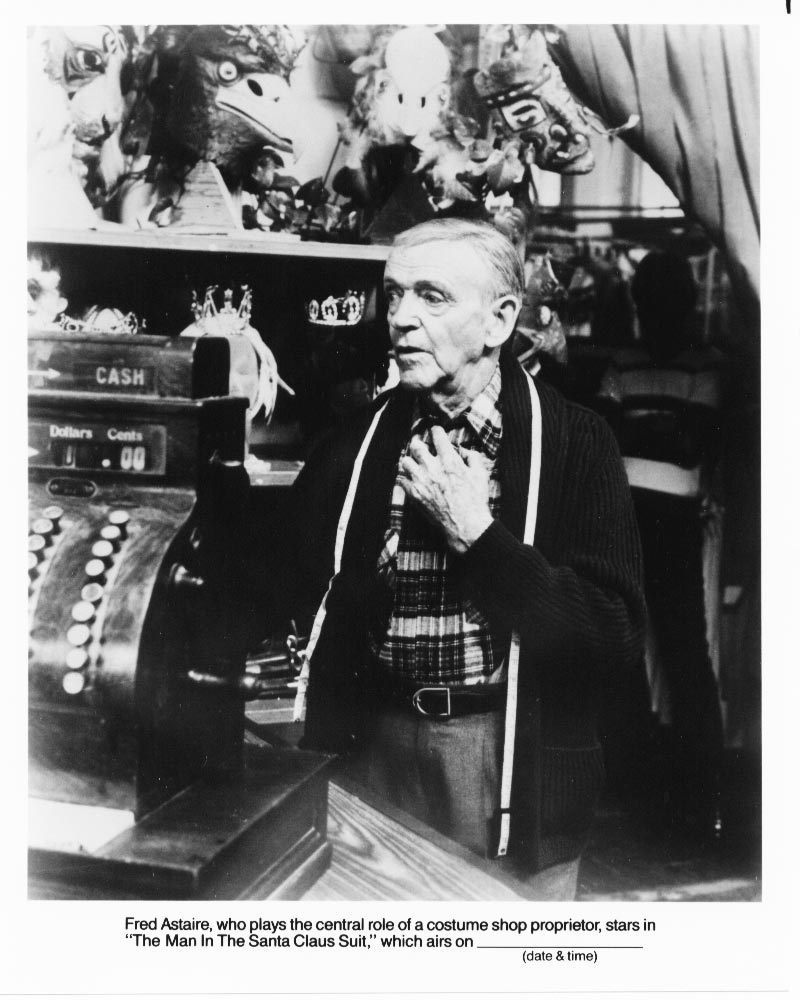 Man in the Santa Claus Suit Fred Astaire #2 Press Promo Photo Film Movie