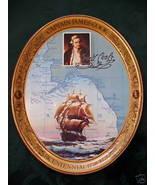Vintage CAPTAIN JAMES COOK COCA COLA COKE Tray Souvenir Collector BiCent... - $14.95