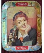 Old Vintage COCA COLA COKE Tray Souvenir War Woman Lady Collector Collec... - $19.95
