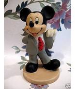 Vintage MICKEY MOUSE Figurine Figural SRI LANKA Collectible Souvenir Col... - $14.95