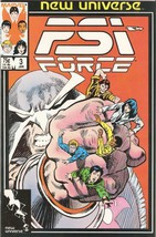 Psi-Force #3 Vol. 1 January 1987 [Comic] by Danny Fingeroth; Mark Texeira - $7.99