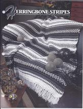 Herringbone Stripes Afghan Crochet Pattern~Annie's Quilt & Afghan Club - $6.99