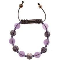 Nialaya Amethyst 925 Sterling Silver Bracelet - $123.75