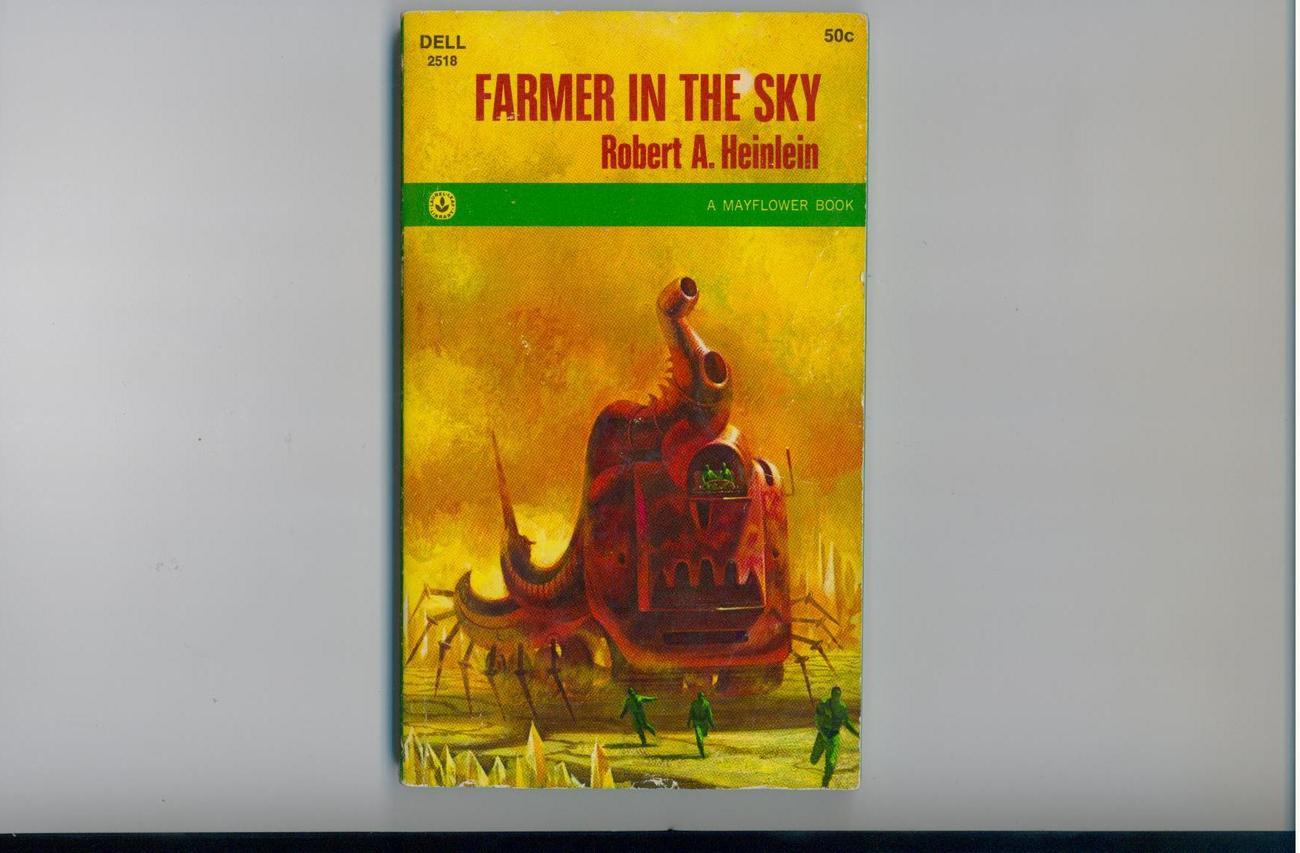 Heinlein - FARMER IN THE SKY - 1968 - 1st paperback ed.
