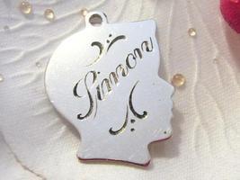 Vintage sterling silver 925 charm pendant - $7.00