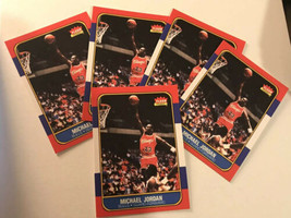 LOT OF (23) 1986-1987 Fleer - Michael Jordan - Chicago Bulls - REPRINT -... - $39.11