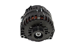 GM AD244 Style High Output 220 Amp Alternator Black 4 Pin LS image 2