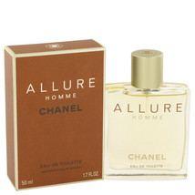 ALLURE by Chanel 1.7 oz 50 ml EDT Cologne Spray for Men New in Box - $114.96