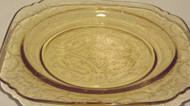 """~1930""""s Federal Amber Madrid Original Pattern Replacement Salad Plate~ - $16.36"""