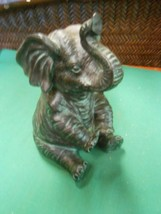 Great Collectible Resin ELEPHANT Statue-Figure....FREE POSTAGE USA - $12.46