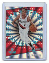 2017-18 Panini Revolution Sunburst C.J. McCollum Parallel Card-#/75 - $3.96