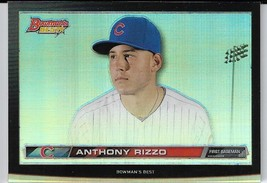 2015 Bowman's Best Hi-Def #HDH-ARI Anthony Rizzo Chicago Cubs - $3.00