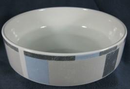 Mikasa Omni Blue FK904 Round Vegetable Serving Bowl Galleria Blue Gray S... - $11.95
