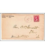 1890 Badger IA Vintage Post Office Postal Cover - €8,47 EUR