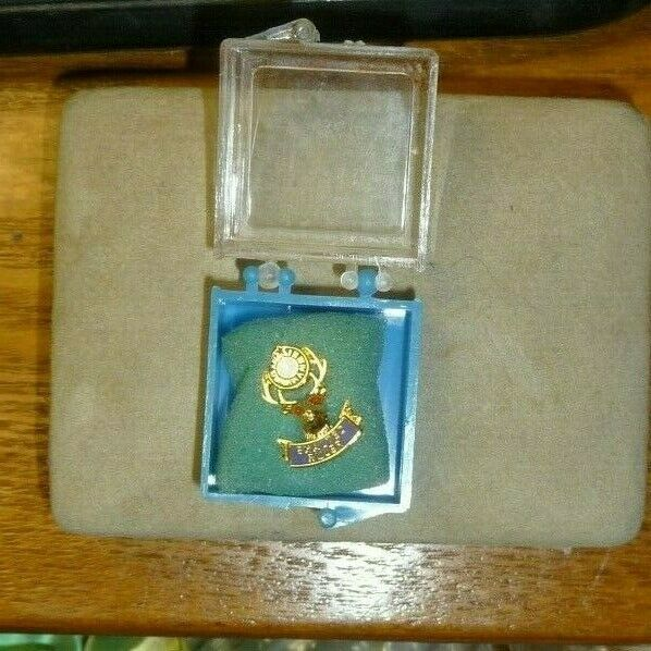 B.P.O E. Exalted Ruler pin back,new condiiton image 2