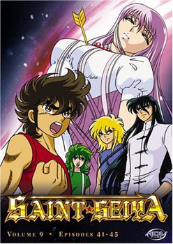 Saint Seiya: Challenge Accepted Vol. 09 DVD Brand NEW!