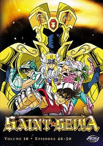 Saint Seiya: Fallen Friends Vol. 10 DVD Brand NEW!