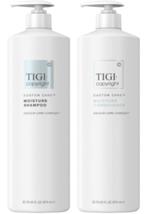 TIGI Copyright Moisture Shampoo, Conditioner Liter Duo