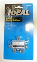 Ideal 85-032 CATV Cable Splitter 2 Way Splitter Pack of 6 New image 1