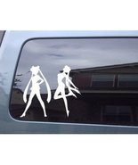 Japanese Sailor Moon Anime Manga Girl Car Laptop Window Vinyl Decal Stic... - $4.99
