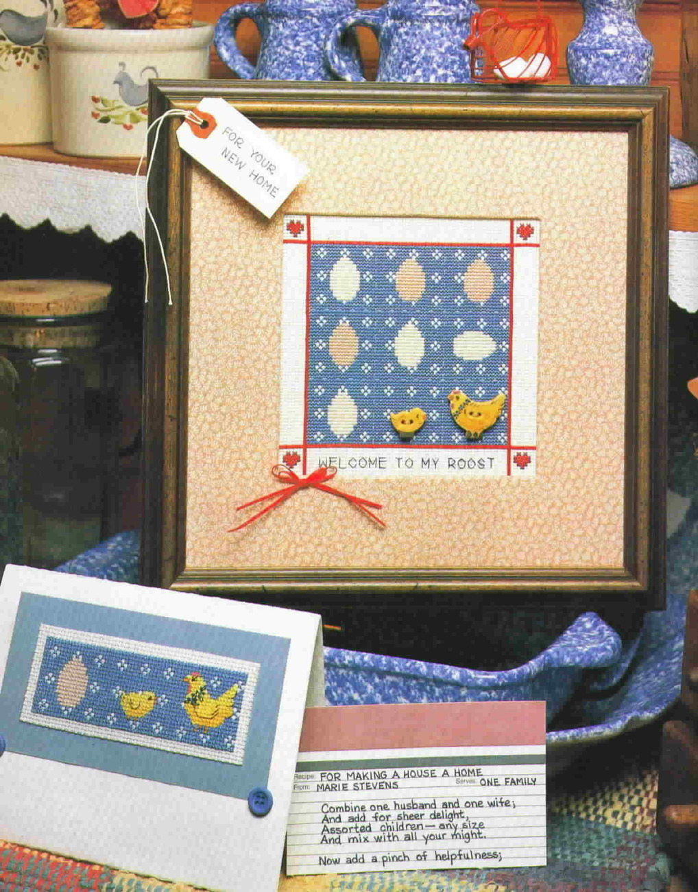 The Vanessa Ann Collection Greetings in Cross-Stitch Hardback