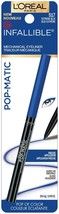 L'Oreal EXTREME BLUE Infallible Pop-Matic Mechanical Eyeliner  New 517 - $5.89